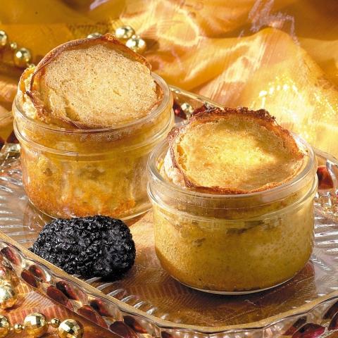 Le Soufflé aux Éclats de Truffes Noires du Périgord (5% jus de truffes - 1,5% de truffes)