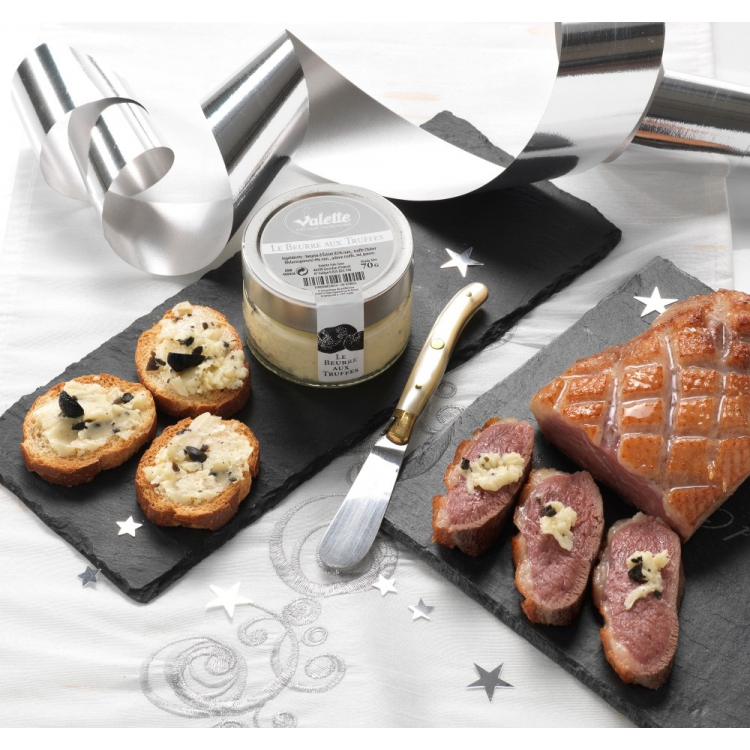 Le beurre aux truffes noires du p rigord 3 de truffes noires du p rigord bocal de 70 g - Comment cuisiner les truffes noires ...