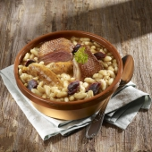"Le Cassoulet Gourmand du Chef ""Tout Canard du Périgord"" - Bocal 960 g"