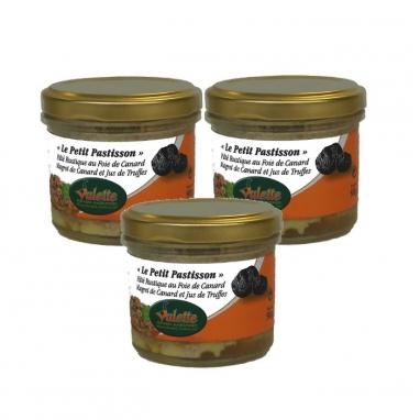 « Le Petit Pastisson » Pâté Rustique au Foie de Canard et Magret de Canard, Jus de Truffes Noires du Périgord