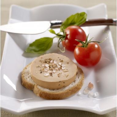 SO'Toasts - Mon Plaisir au Foie de Canard, Tomate et Basilic (20% de Foie Gras)