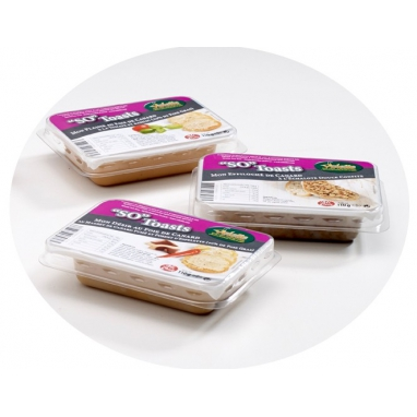 "L'assortiment de 3 ""SO"" Toasts"