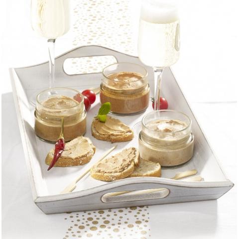 L' Assortiment de 3 TartinObles - Crèmes Apéritives au Foie de Canard