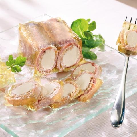 Le Lot de 2 boîtes de rondos de Jambon au Foie gras