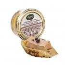 """""""Grains de Folie"""" Le Foie Gras de Canard Entier et son Coeur de Caviar de 50 g"""