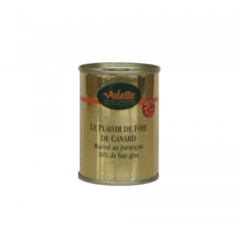 Le Plaisir au Foie de Canard Parfumé au Jurançon (20 % de Foie Gras)