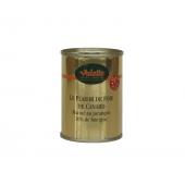 Le Plaisir au Foie de Canard Mariné au Jurançon (20 % de Foie Gras) - Flûte 130 g