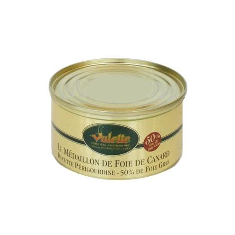 Le Médaillon de Foie de Canard (Noyau 50% de Bloc de Foie Gras)
