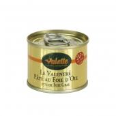 """""""Le Valentré"""" Paté au Foie d'Oie (25% de Foie Gras) - boîte 65 g"""