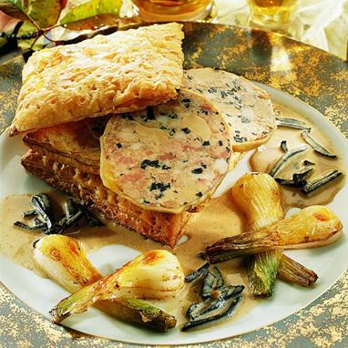 Le Cou d'Oie Farci au Foie d'Oie Truffé 1% (30% de Foie Gras)