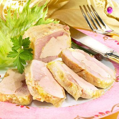 La Caille Fourrée au Foie Gras de Canard Entier (20 % de Foie Gras) - Boîte 130 g