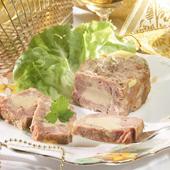 La Ballottine de Magret de Canard au Foie de Canard (25% de Bloc de Foie Gras) - boîte 200 g