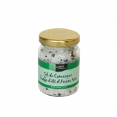 Le Sel de Camargue à la Truffe d'Eté (1,05 %) et Poivre Noir (2,85 %) - bocal 90 g