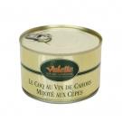 Le Coq au Vin de Cahors Mijoté aux Cèpes