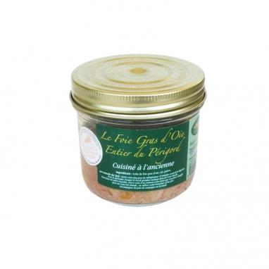 Le Foie Gras d'Oie Entier du Périgord Cuisiné à l'Ancienne - 320 g