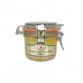 Le Foie Gras d'Oie Entier du Périgord à la Truffe Noire du Périgord 5% - Bocal 180 g
