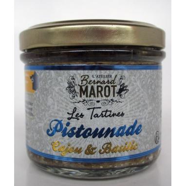 Tartine Pistounade Cajou et Basilic