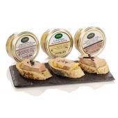 L'Ecrin Dégustation Privilège - Assortiment de Foies Gras de canard 3 x 50 g