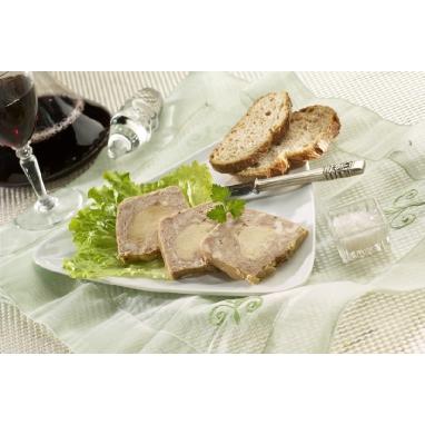 Le Papiton au Foie de Canard (25 % de Bloc de Foie Gras) - La barquette de 420 g