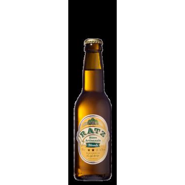 Bierre Blonde Artisanale Ratz 33 cl