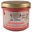 Tartinade de Betteraves aux baies roses et fromage de chèvre