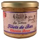 Tartinade de Bar au Chorizo doux et sel de Guérande