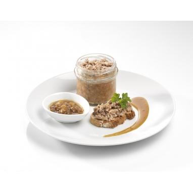 La Terrine de Canard au Confit d'Oignons bocal de 180 g