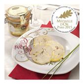 """Le Lot de 2 Foies Gras de Canard Entiers du Sud-Ouest """"Mi-cuit""""- Les 2 bocaux de 180 g"""
