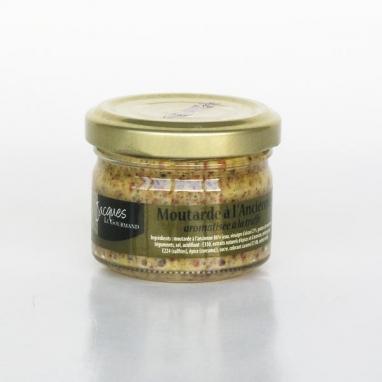 Le lot de 2 Moutardes à l'Ancienne Aromatisées à la Truffe - 50 g
