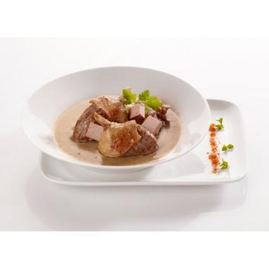 Le Canard à ma Façon, sauce Bordelaise au Foie Gras et aux Cèpes 350 g