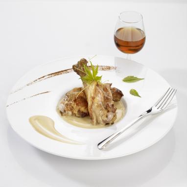 Marmiton de Canard, Sauce Foie Gras et ses Eclats de Morilles 350 g
