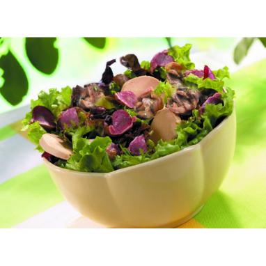"""L'Assortiment """"Spéciale salade"""" - Les 3 spécialités (1 Confit de Gésiers, 1 Coeurs Confits, 1 Magret de Canard Fumé)"""