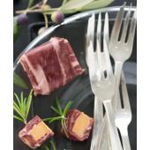 Les bonbons de magret de canard séché, au foie gras (61% de foie gras) - 3 bonbons sous vide, 75 g