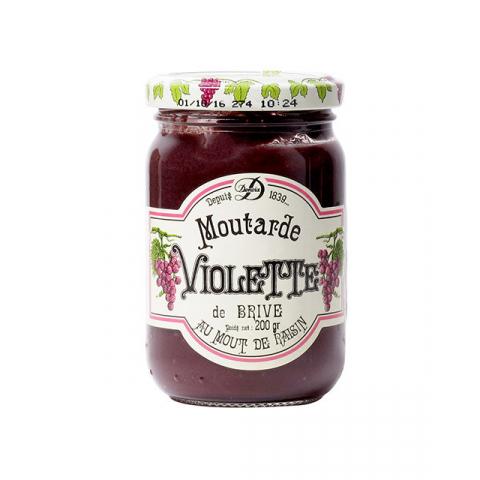Moutarde Violette de Brive 200 g