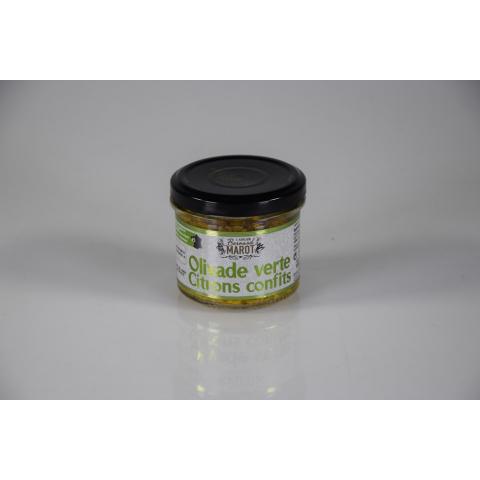 Olivade Verte aux Citrons Confits 100 g