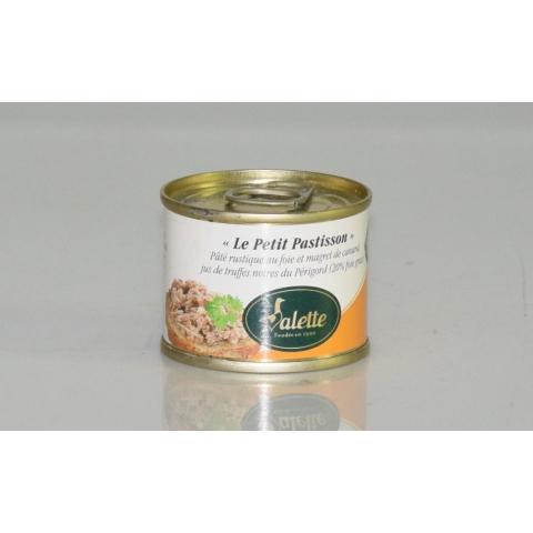 """""""Le Petit Pastisson"""" Pâté Rustique au Foie de Canard, Magret de Canard et Jus de Truffes Noires du Périgord 1%"""