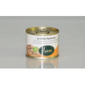 « Le Petit Pastisson » Pâté Rustique au Foie et Magret de Canard, Jus de Truffes noires du Périgord - boîte 65 g