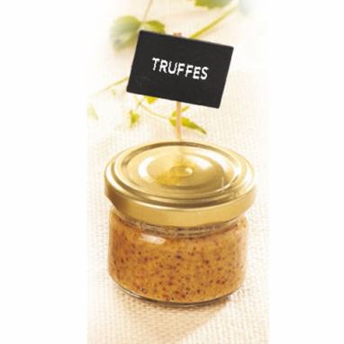 Le Lot de 3 Moutardes à l'Ancienne Aromatisées à la Truffe - 90 g
