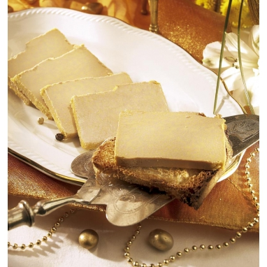 Le lot de 3 blocs de foie gras de canard du Périgord