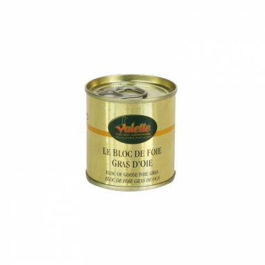 Le lot de 3 Blocs de Foie Gras d'Oie - 100 g