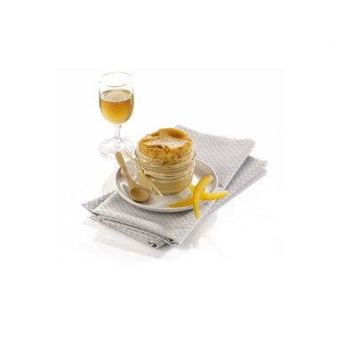 """Le lot de 3 """"Soufflés aux Zestes d'Orange Confits Rélevé de sa Petite Liqueur d'Orange"""" - 3 bocaux de 85 g"""