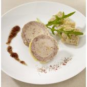 Le Médaillon au Magret de Canard et au Foie de Canard (20 % de Foie Gras)