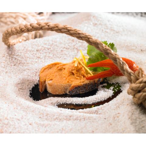 L'En-Cas d'Esturgeon et Chorizo + L'En-Cas Impérial de Langoustine à la Mangue - Lot de 4 Bocaux de 90 g