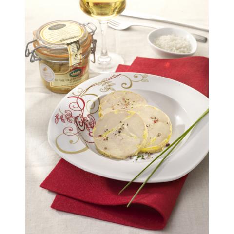 Lot de 2 Foies Gras de Canard Entier du Périgord « Recette à l'Ancienne » - 2 bocaux 125 g + 180 g
