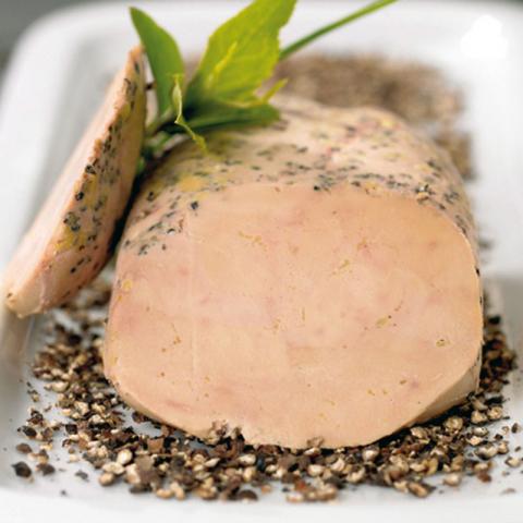 Le Lobe de Foie Gras de Canard Entier du Périgord au Poivre Noir