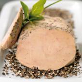 Le Lobe de Foie Gras de Canard Entier du Sud-Ouest au Poivre Noir - Lobe de 320 g - Mi-cuit