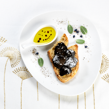Carpaccio de Truffes Noires Extra du Périgord à l'Huile d'Olive - Maison Valette