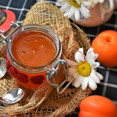 La Confiture Extra d'Abricots - Pot à facettes de 370 g