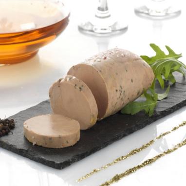 Absolu de Foie Gras d'Oie, Muscat de Beaumes de Venise et Poivre Sauvage de Voatsiperifery - coque de 200g