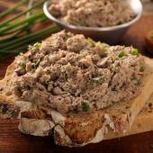 Les Rillettes Royales de Confit de Canard au Foie de Canard (23 % de Bloc de Foie Gras) 90 g